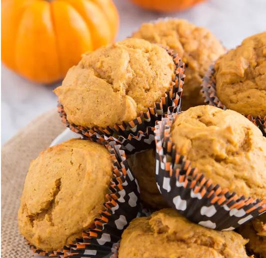 Paleo sütőtökös muffin