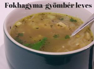 Fokhagyma-gyömbér leves