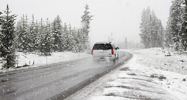 téli autózás