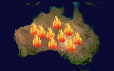 Miért ég Ausztrália?És hogyan tudsz segíteni?